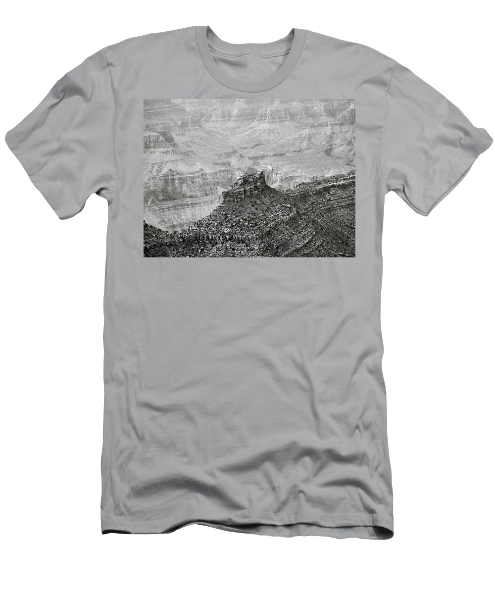 Adventure Men's T-Shirt (Athletic Fit) featuring the photograph The Sentry Of Centuries by Will Jacoby Artwork