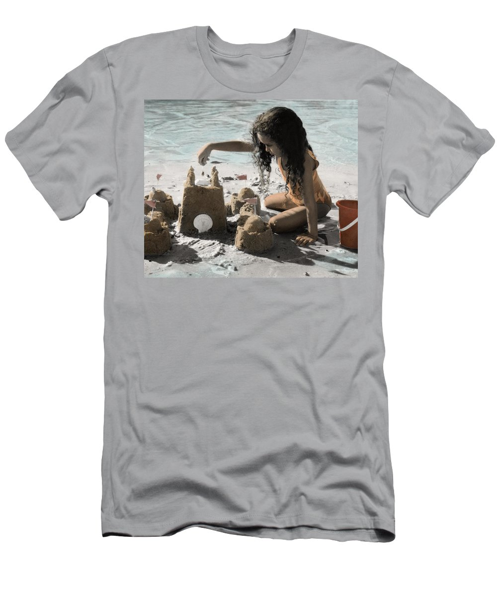 The Twelve Gifts Of Birth Men's T-Shirt (Athletic Fit) featuring the photograph The Twelve Gifts Of Birth - Imagination 1 by Jill Reger
