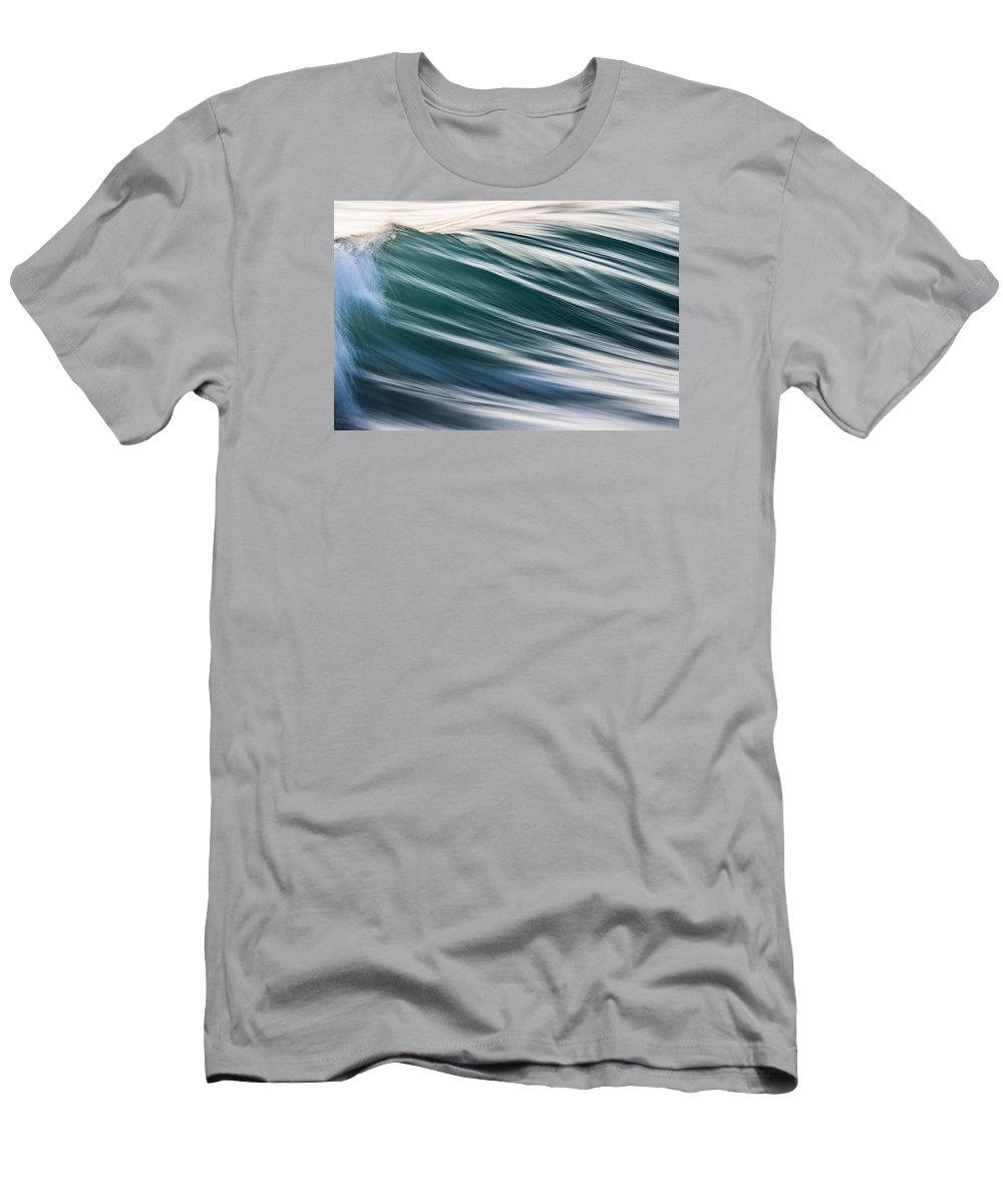 Wave Men's T-Shirt (Athletic Fit) featuring the photograph Transverse Xix by Justin Bartels