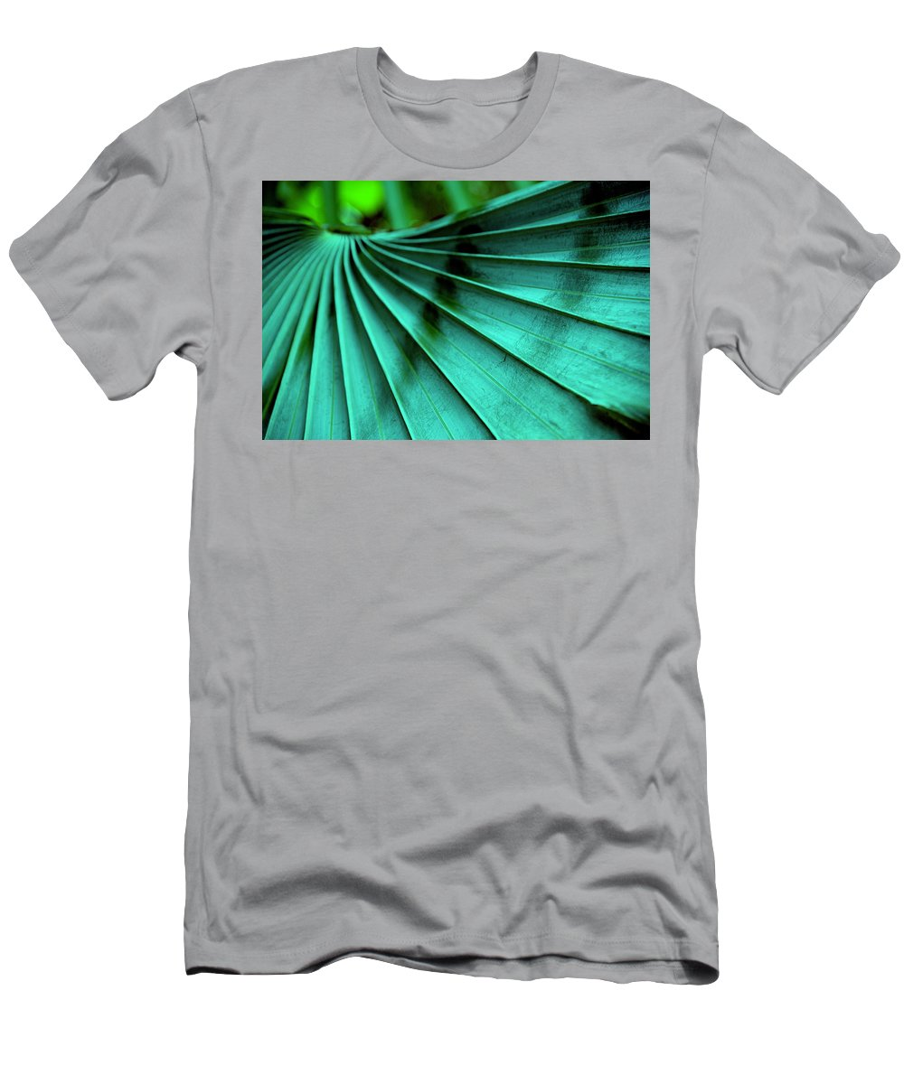 Silver Palm Leaf T-Shirt featuring the photograph Tropical Wings by Susanne Van Hulst