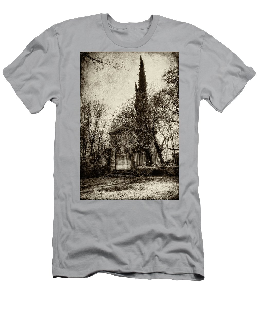 Abandoned Places Men's T-Shirt (Athletic Fit) featuring the photograph Untitled N.96 by Roberto Pagani