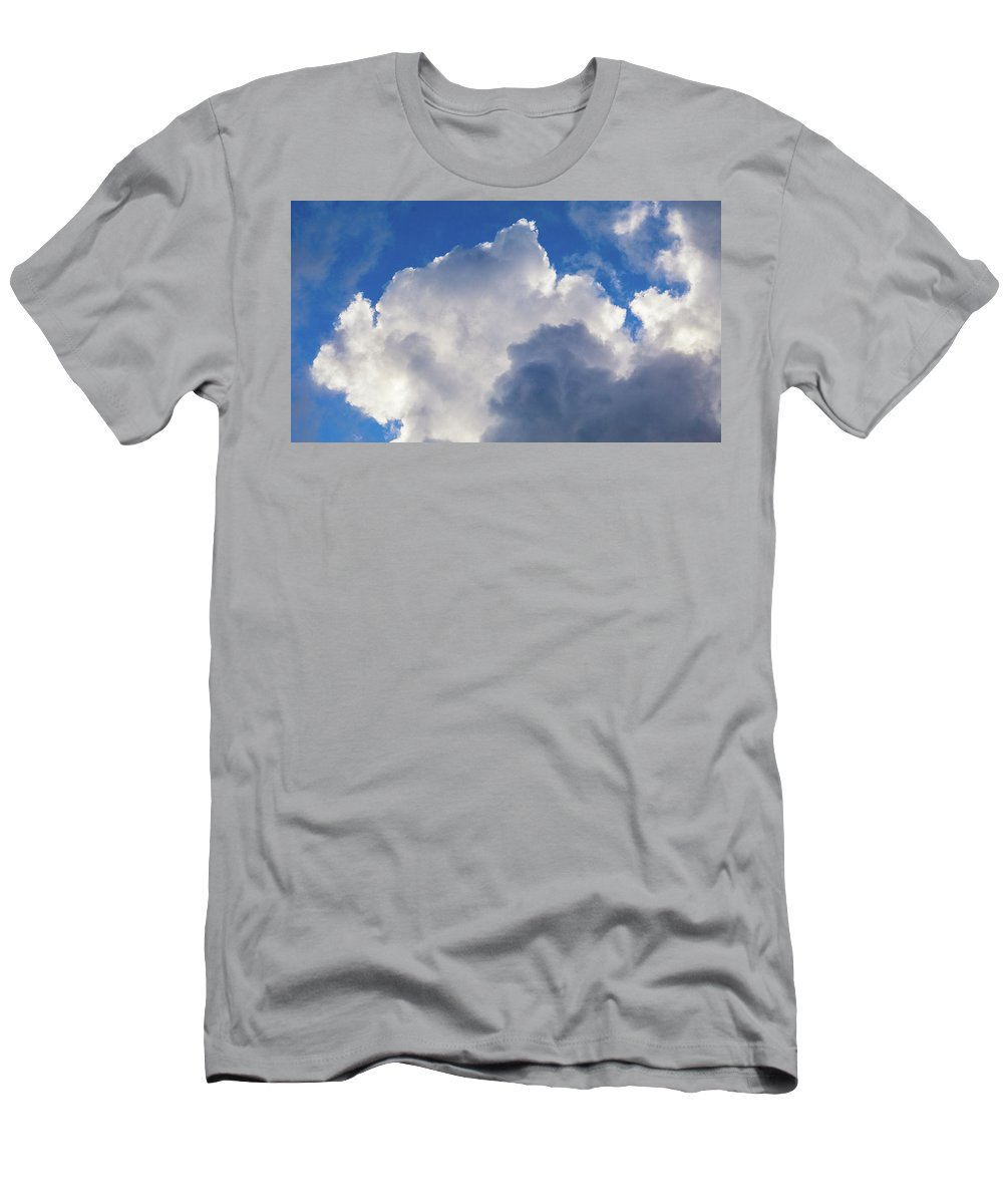 Men's T-Shirt (Athletic Fit) featuring the photograph Up Above by John Pierpont