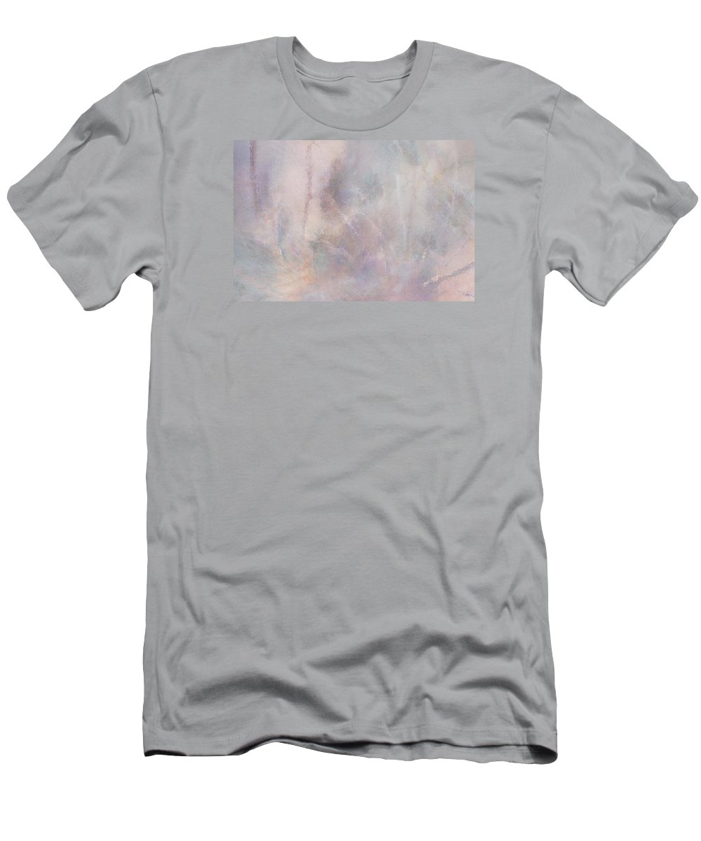 Digital Art Men's T-Shirt (Athletic Fit) featuring the digital art Vanishing Act by Linda Murphy