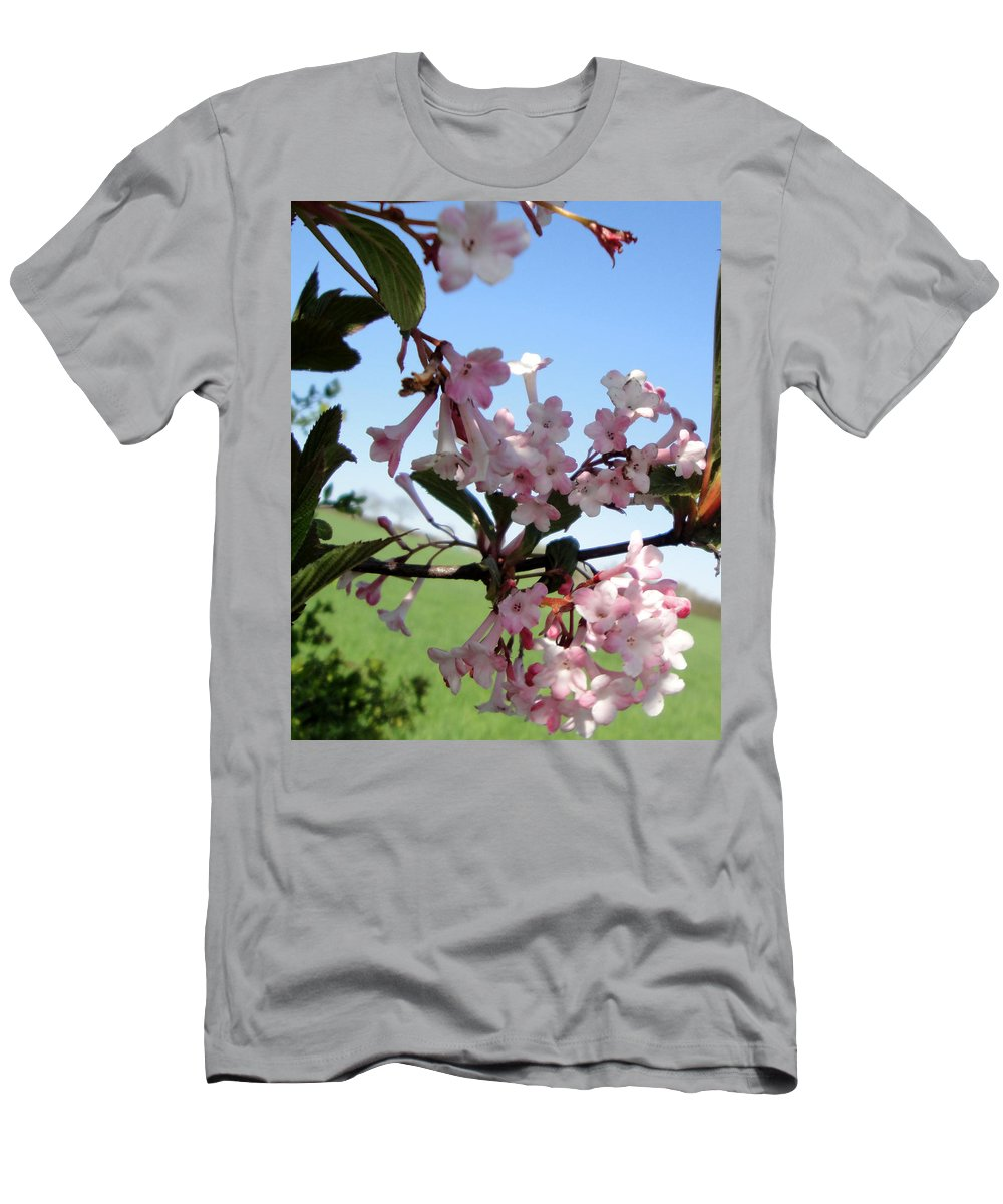 Nature T-Shirt featuring the photograph Vibernum pink dawn by Susan Baker