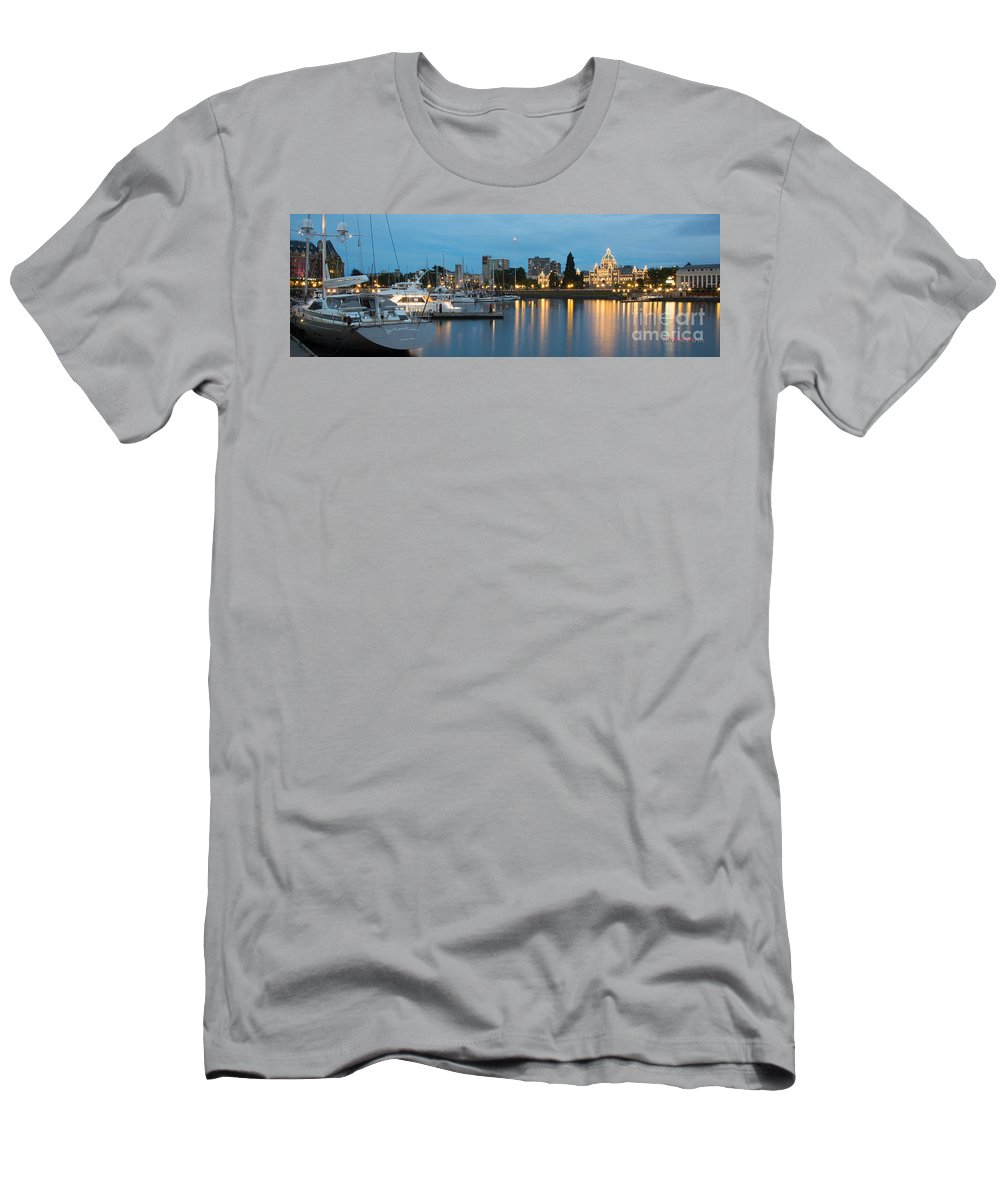 Victoria Men's T-Shirt (Athletic Fit) featuring the photograph Victoria by Don Edward Jones