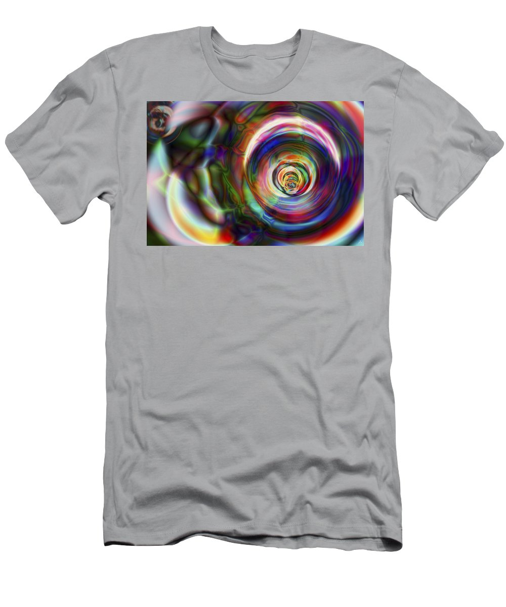 Crazy T-Shirt featuring the digital art Vision 8 by Jacques Raffin