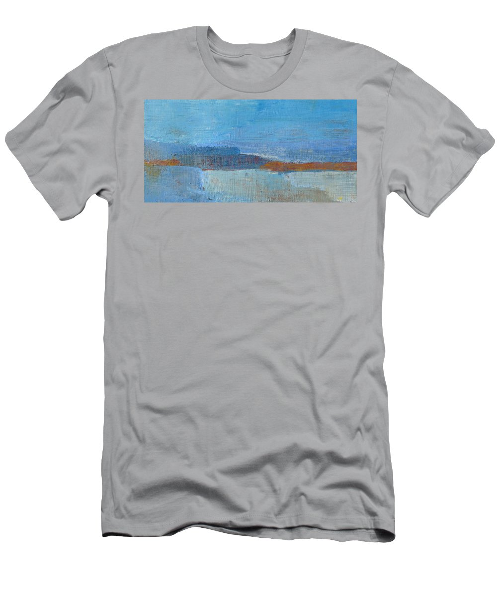 Abstract Men's T-Shirt (Athletic Fit) featuring the painting Vision by Habib Ayat