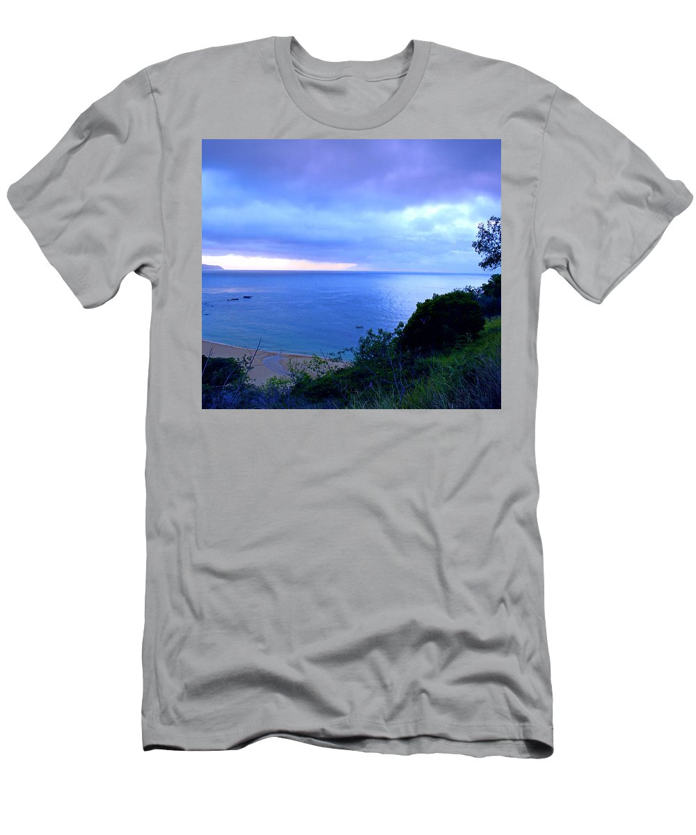 Bay T-Shirt featuring the photograph Waimea Bay Evening by Kevin Smith