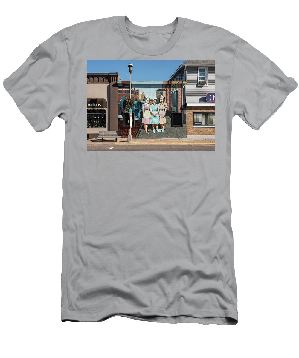 Men's T-Shirt (Athletic Fit) featuring the photograph Waitresses by Gabe Jacobs