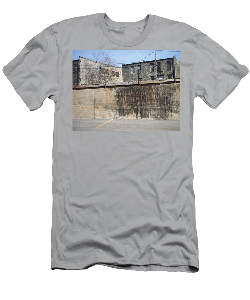 Walker's Point Men's T-Shirt (Athletic Fit) featuring the photograph Walker's Point 3 by Anita Burgermeister