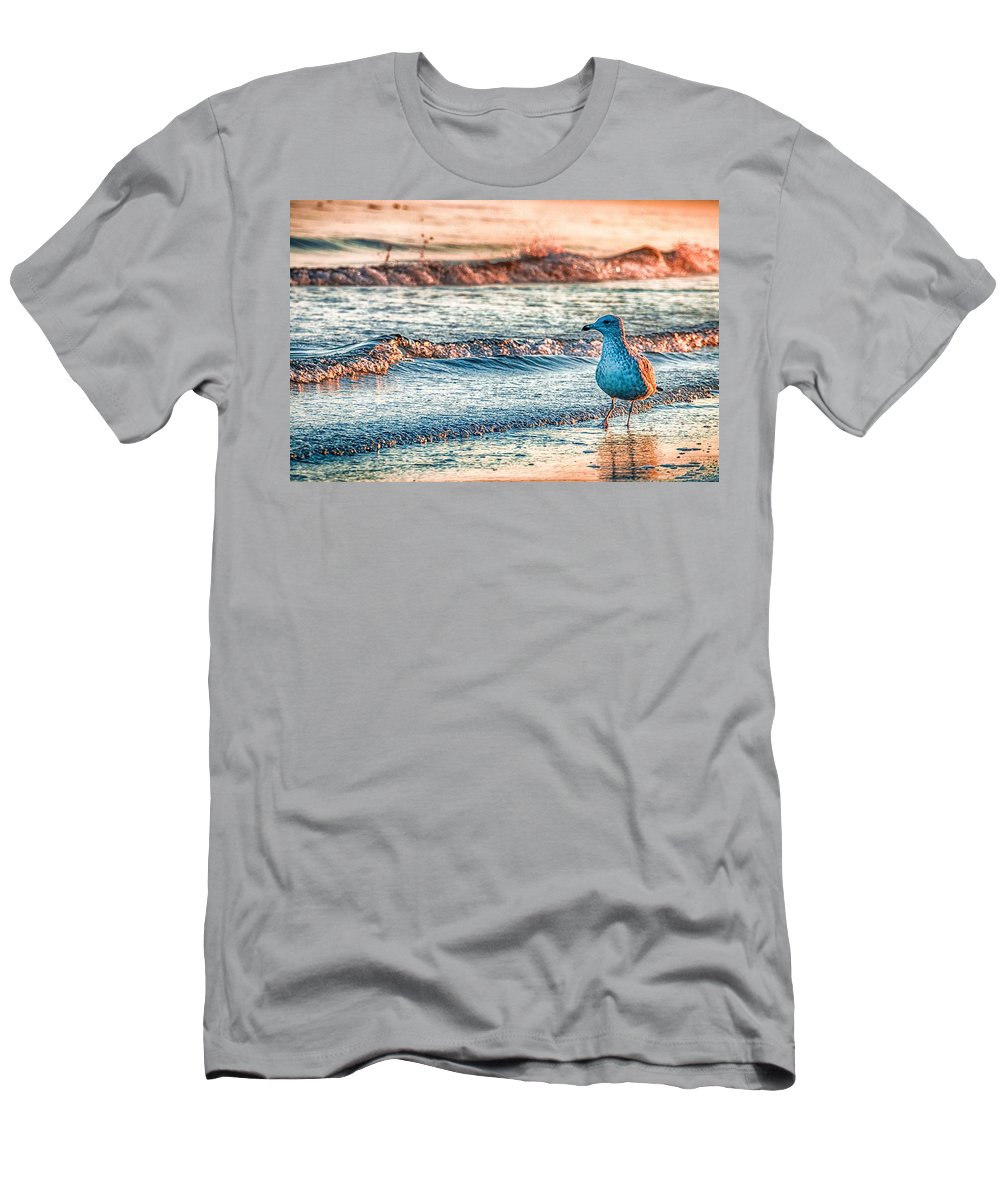 Ocean T-Shirt featuring the photograph Walking On Sunshine by Mathias Janke