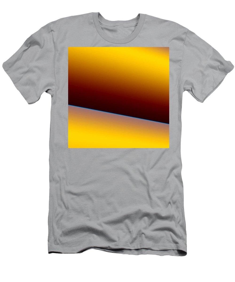 Digital Art Men's T-Shirt (Athletic Fit) featuring the digital art way III by Dragica Micki Fortuna