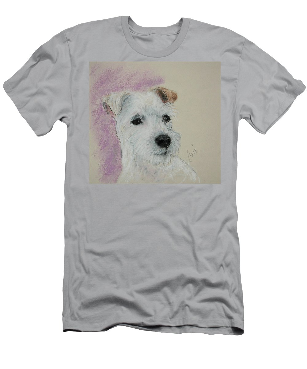 Pastel Men's T-Shirt (Athletic Fit) featuring the drawing What A Riot by Cori Solomon