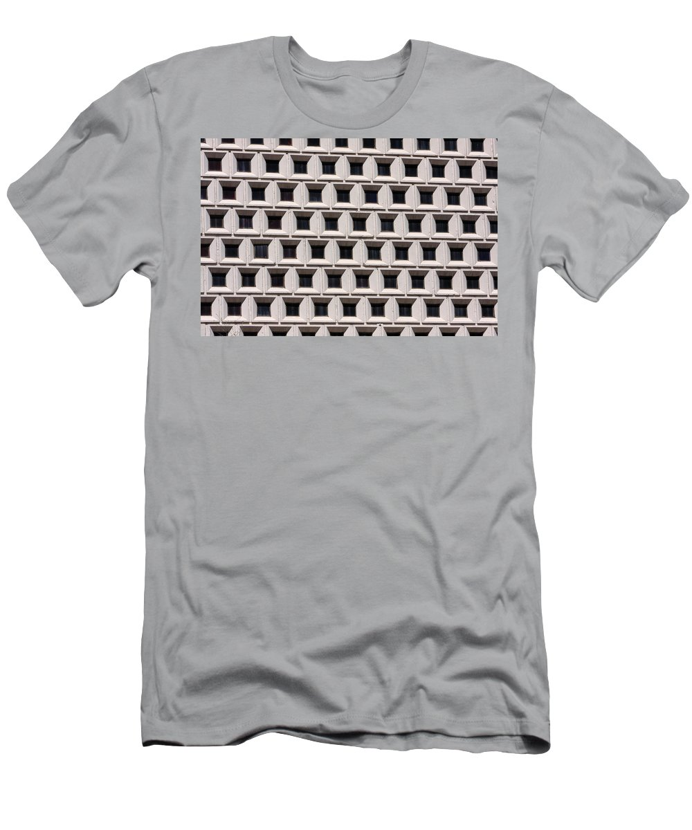 Abstracts Men's T-Shirt (Athletic Fit) featuring the photograph Window Abstract by James BO Insogna