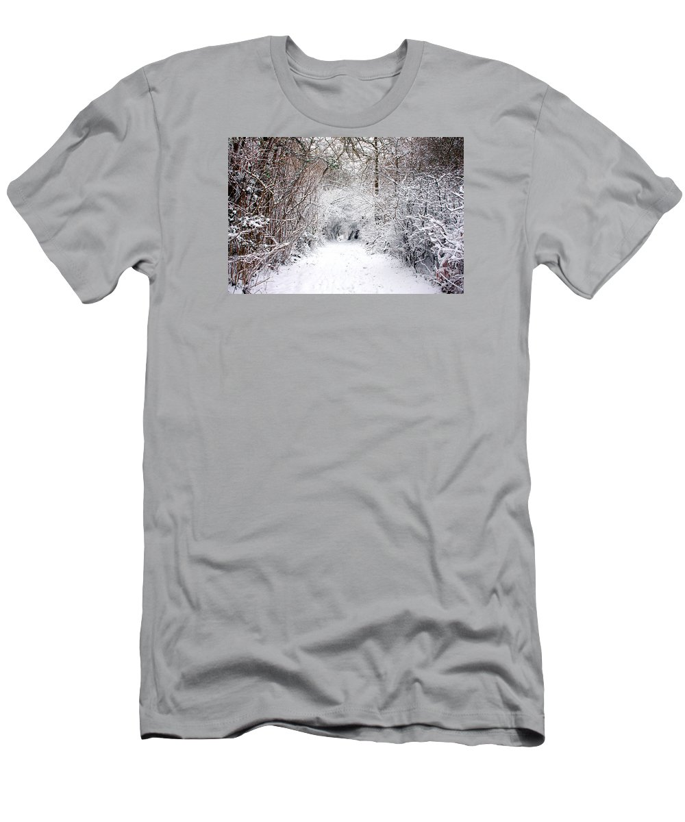Winter Men's T-Shirt (Athletic Fit) featuring the photograph Winter Wonderland by Kyle Hillman