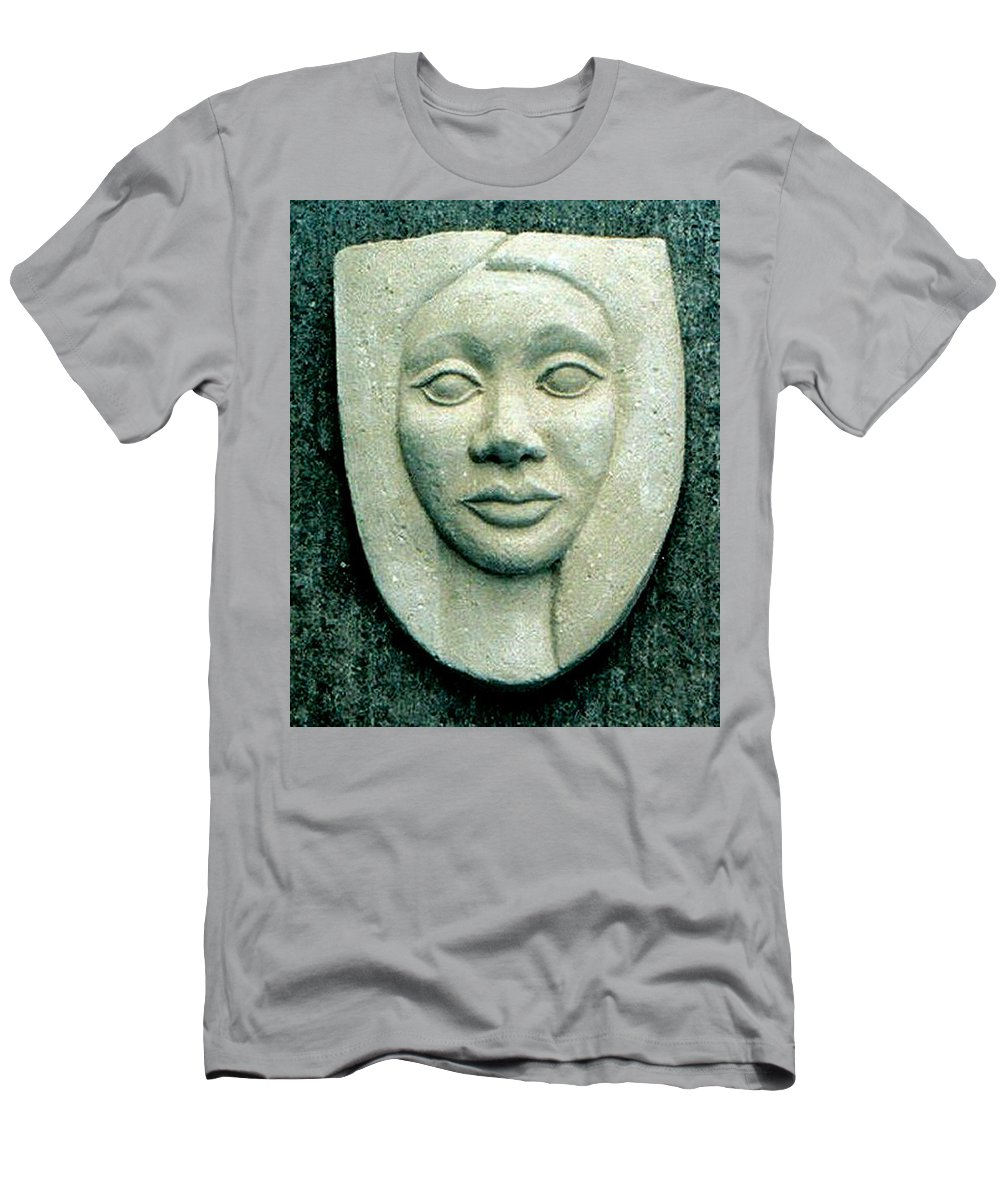 Relief Men's T-Shirt (Athletic Fit) featuring the relief Without Veils by Madalena Lobao-Tello