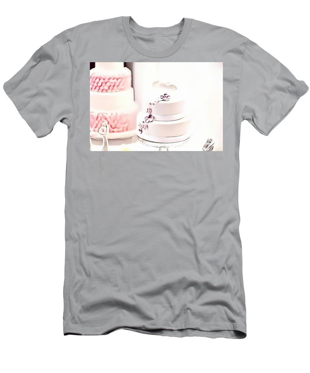 Urban Men's T-Shirt (Athletic Fit) featuring the digital art 14 Eat Me Now by Leo Rodriguez