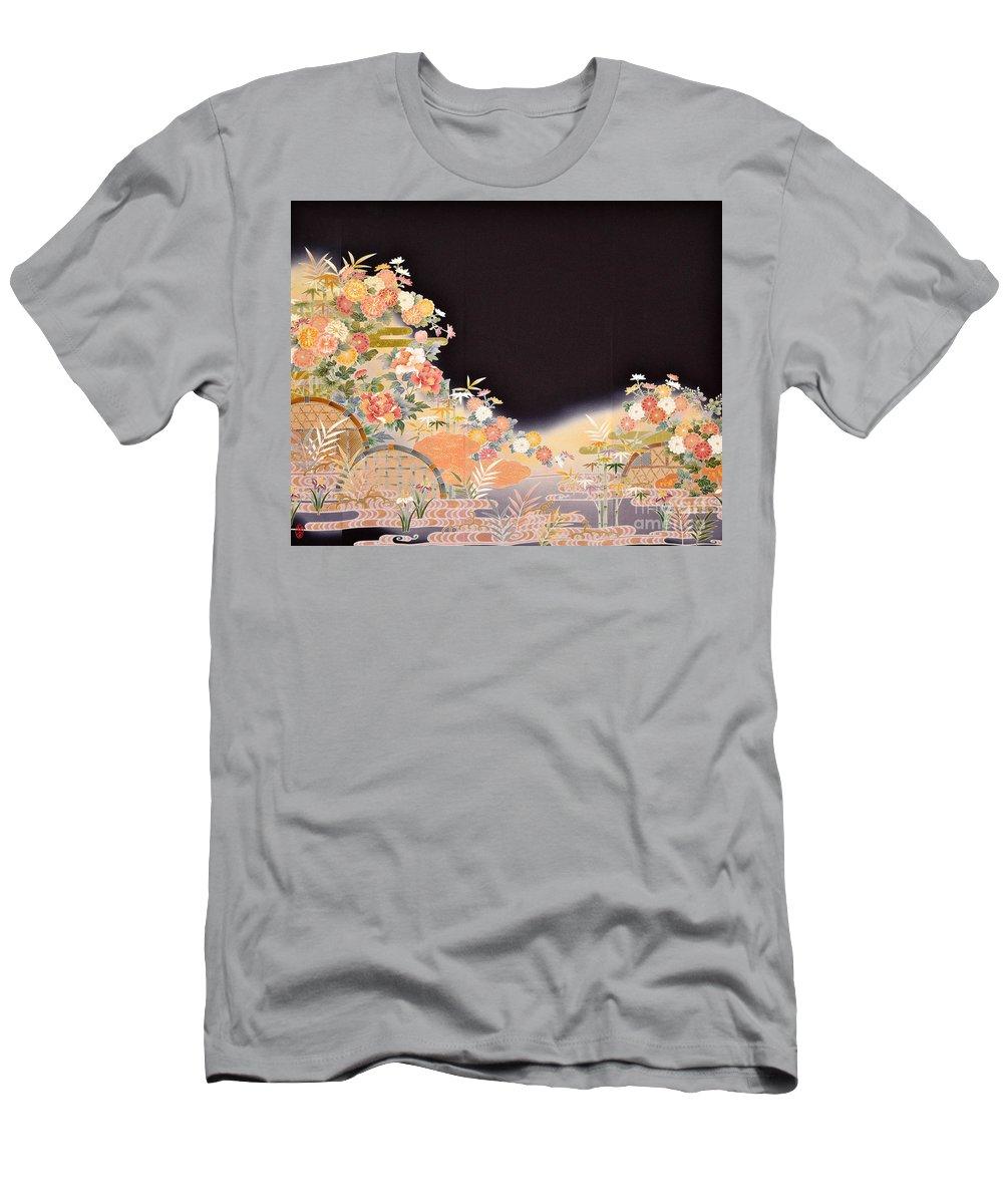 T-Shirt featuring the digital art Spirit of Japan T77 by Miho Kanamori