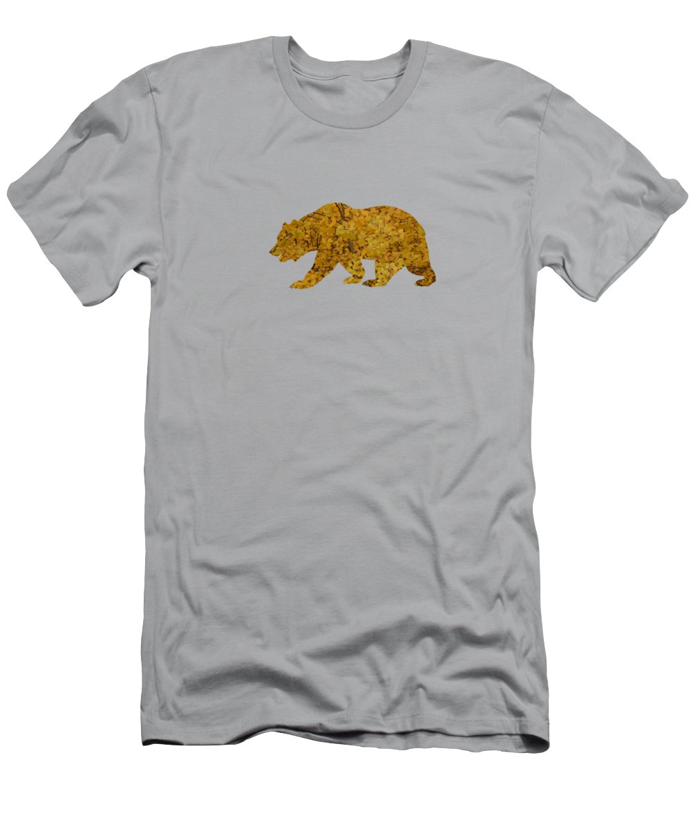 Aspen T-Shirt featuring the photograph Aspen Bear by Whispering Peaks Photography