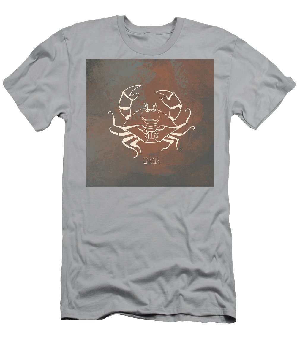 Industrial Wall Art Men's T-Shirt (Athletic Fit) featuring the digital art Cancer by Kristina Vardazaryan