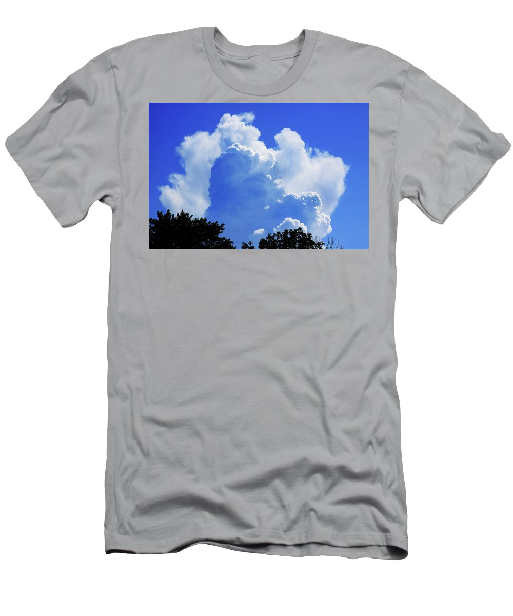 Clouds T-Shirt featuring the photograph Clouds one by John Lautermilch