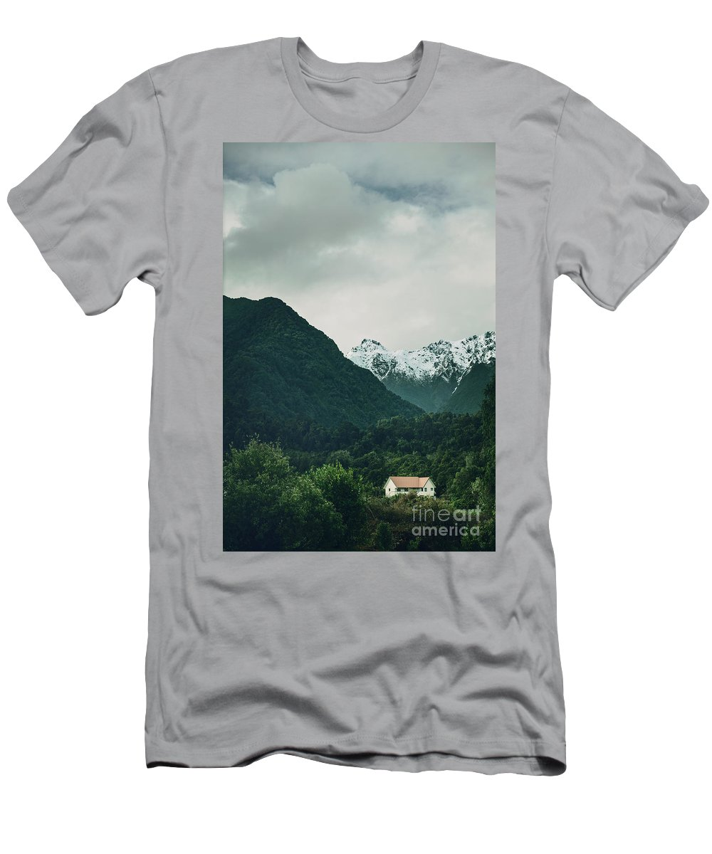 Kremsdorf Men's T-Shirt (Athletic Fit) featuring the photograph Deep In A Dream by Evelina Kremsdorf