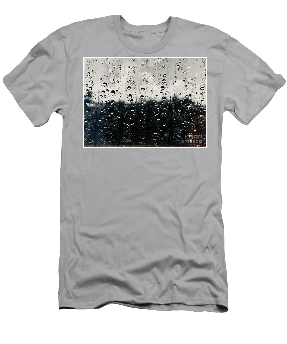 T-Shirt featuring the photograph Droppin By by Andres Cavazos
