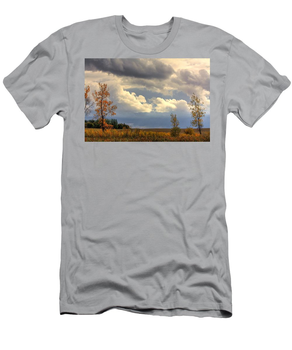 Men's T-Shirt (Athletic Fit) featuring the photograph Falling Into W by David Matthews