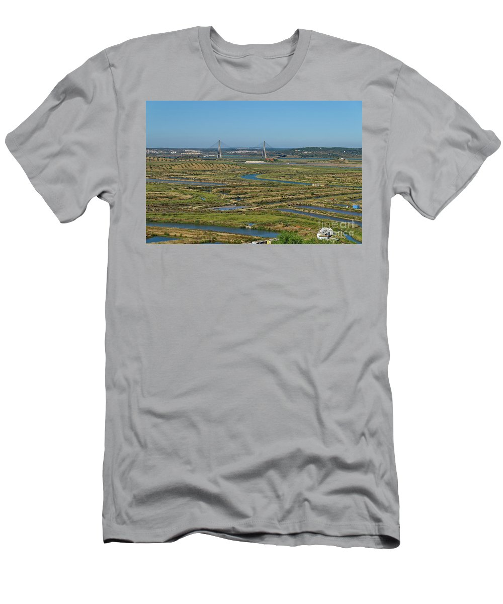 Passage Men's T-Shirt (Athletic Fit) featuring the photograph From Algarve To Andalusia by Angelo DeVal