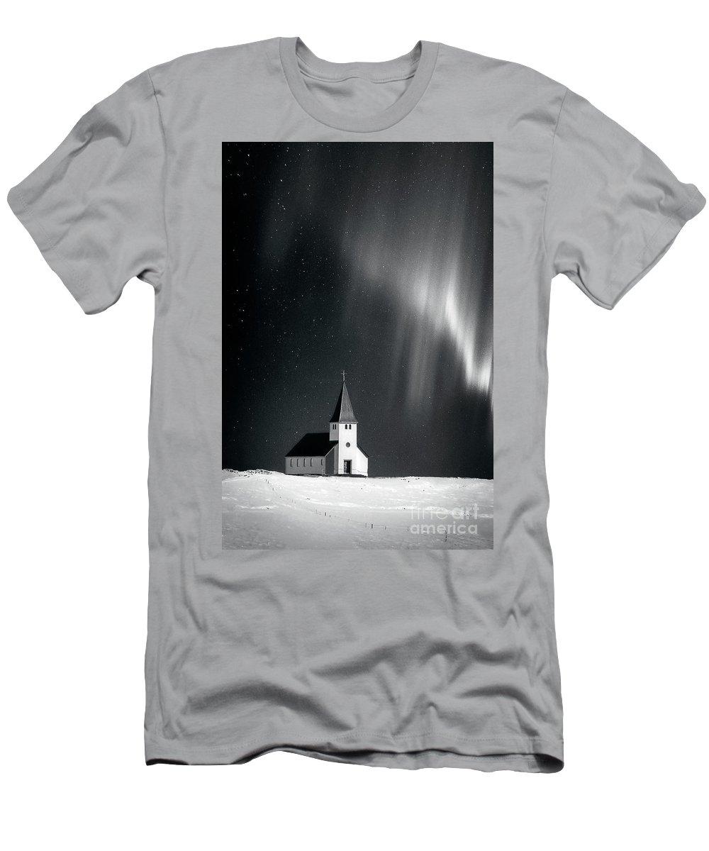 Kremsdorf Men's T-Shirt (Athletic Fit) featuring the photograph Heaven's Light by Evelina Kremsdorf
