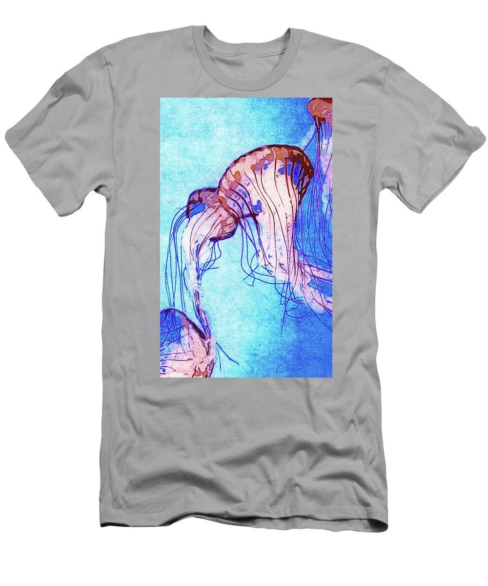 Monterey Bay Aquarium Mixed Media T-Shirts