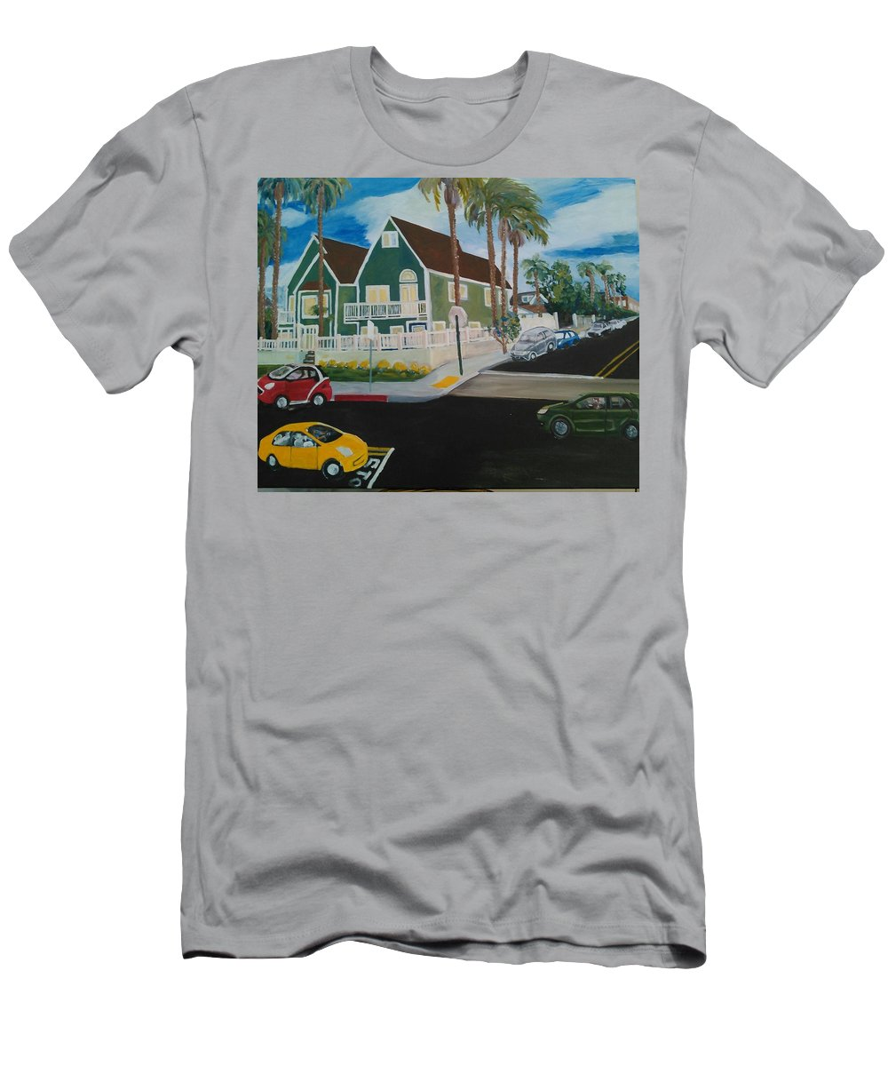 Painting T-Shirt featuring the painting OB House by Andrew Johnson