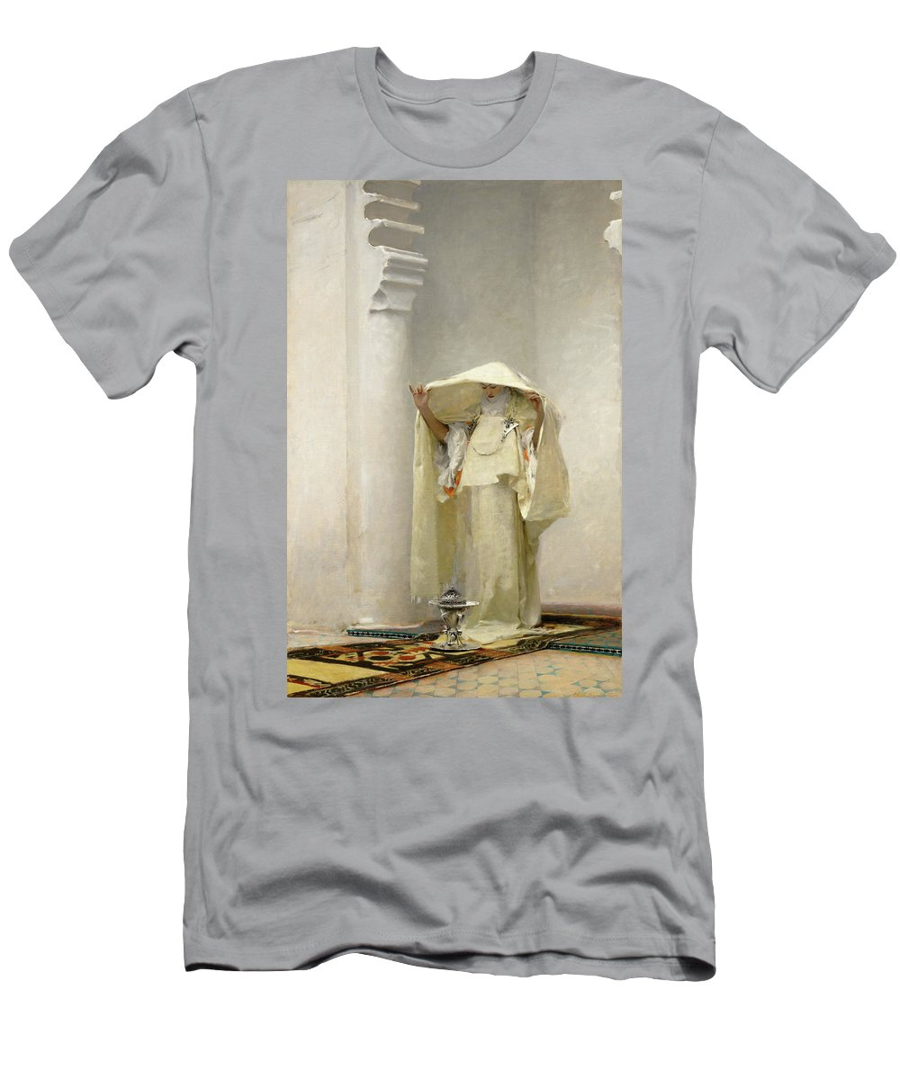 John Singer Sargent T-Shirt featuring the painting Smoke of Ambergris by John Singer Sargent