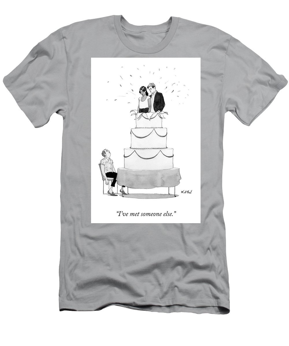 Someone Else Men's T-Shirt (Athletic Fit)