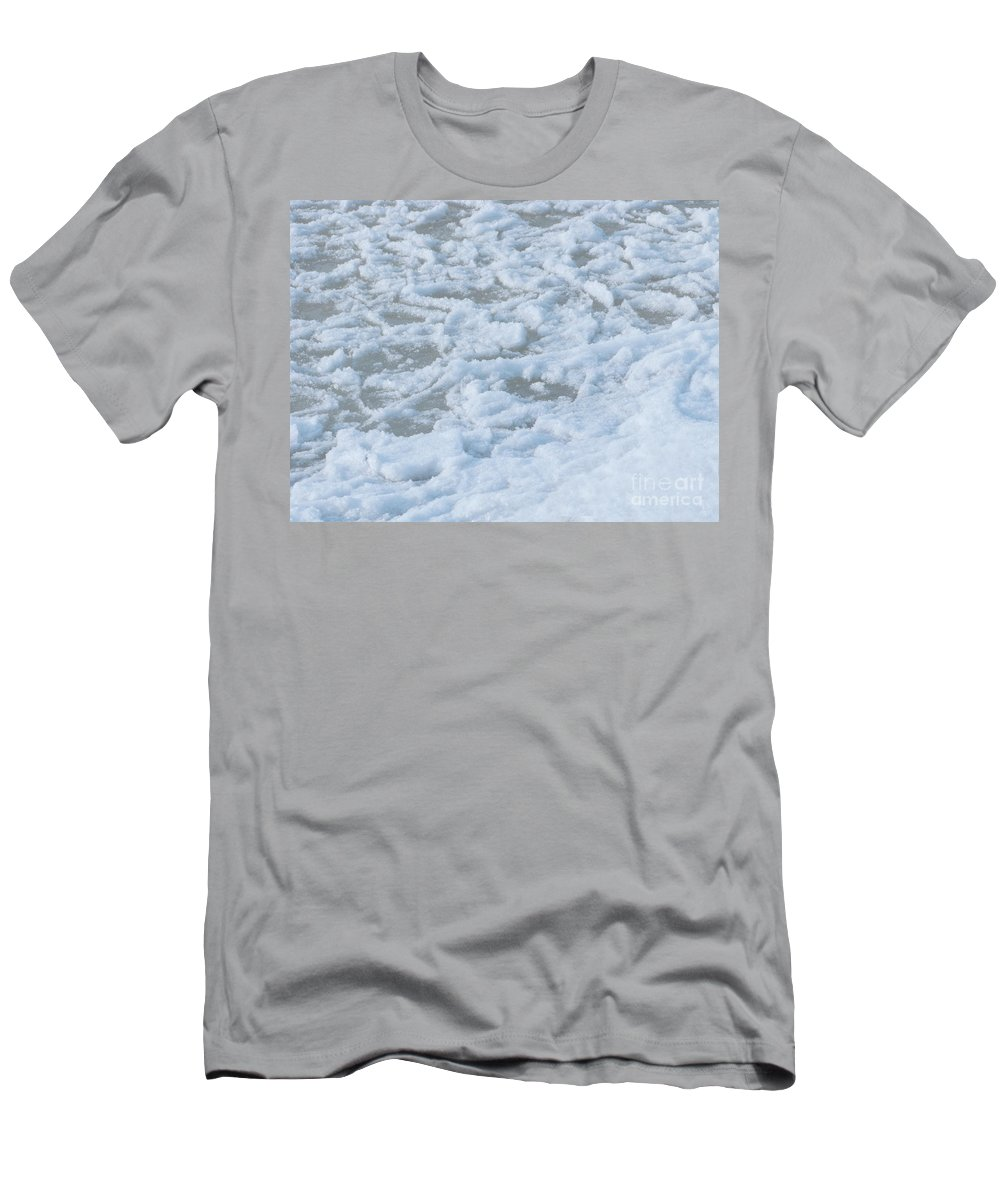 Snow Men's T-Shirt (Athletic Fit) featuring the photograph Take Care by Ann Horn
