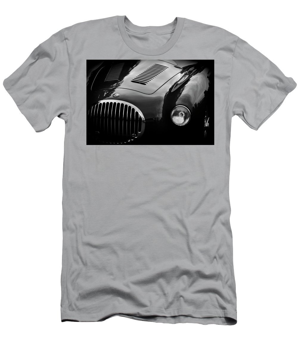 Maserati Men's T-Shirt (Athletic Fit) featuring the photograph Vintage Fratelli Maserati Bologna by Kurt Meredith