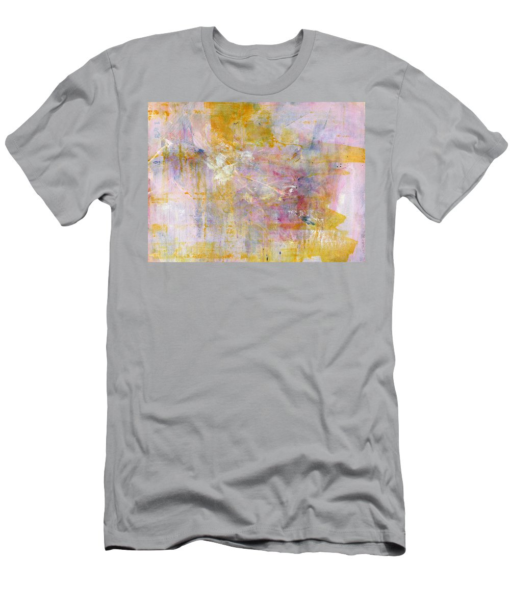 Golden Men's T-Shirt (Athletic Fit) featuring the painting You Are Golden by A Bacia
