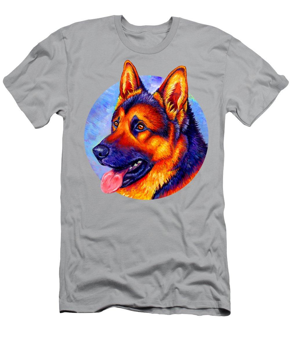 Alsatian Paintings T-Shirts