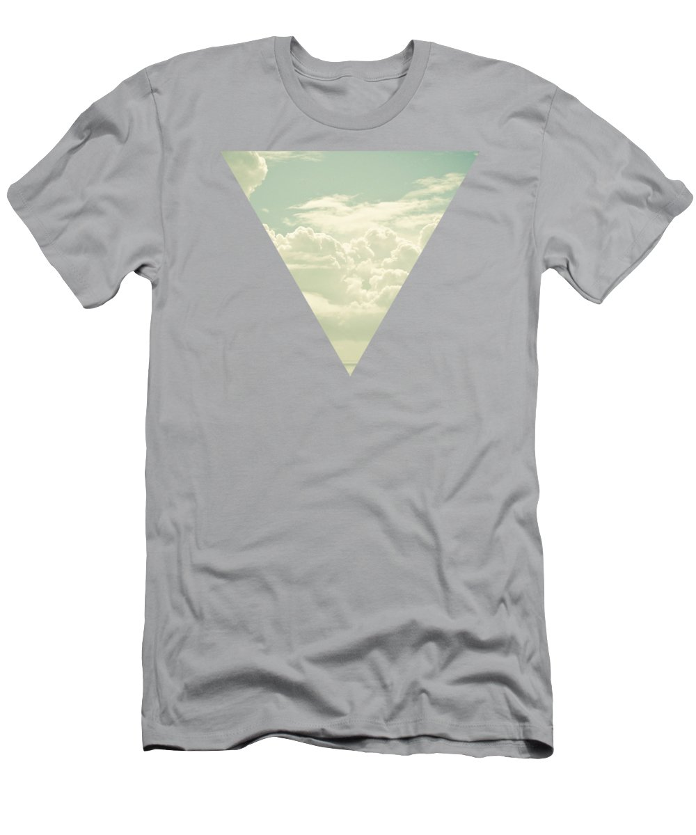 Nature T-Shirt featuring the photograph As the Clouds Gathered by Cassia Beck