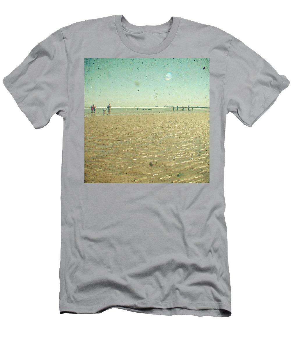 Beach T-Shirt featuring the photograph Beach Days by Cassia Beck