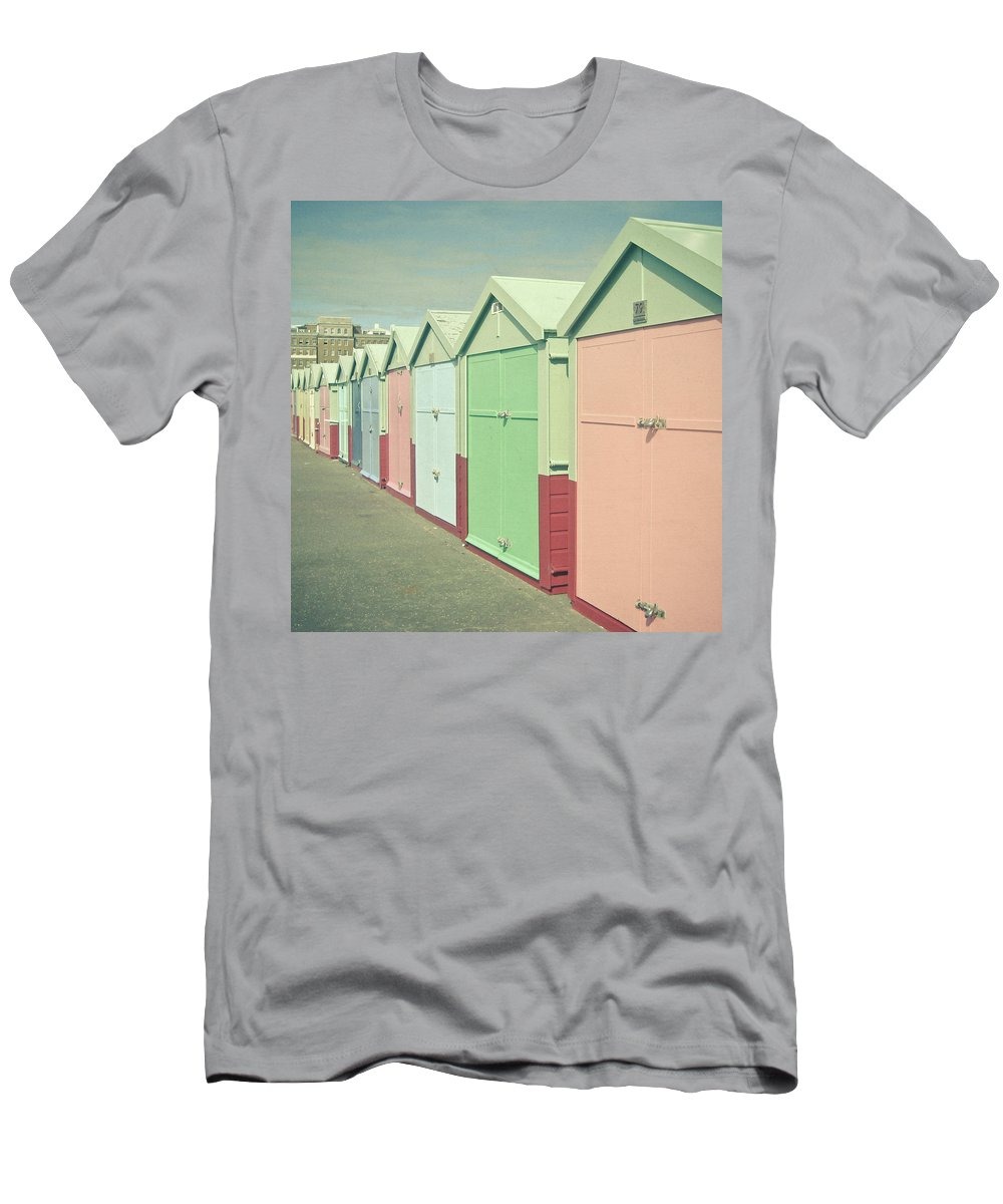 Seaside T-Shirt featuring the photograph By the Sea by Cassia Beck