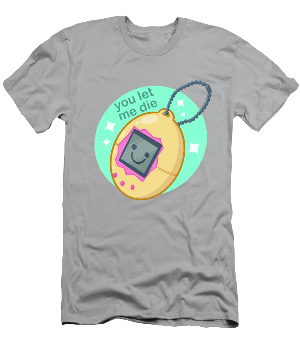 Pet T-Shirt featuring the drawing Digital Pet by Ludwig Van Bacon