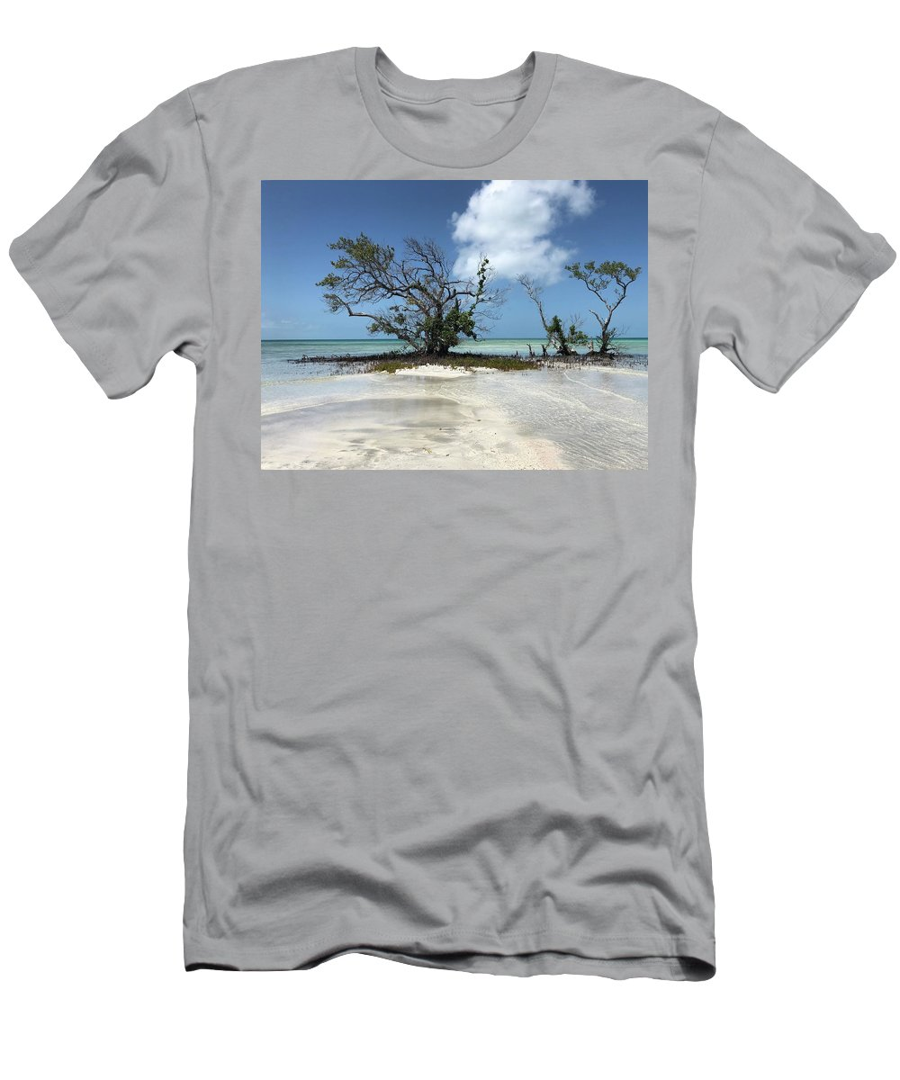 Key West Florida Waters T-Shirt featuring the photograph Key West Waters by Ashley Turner
