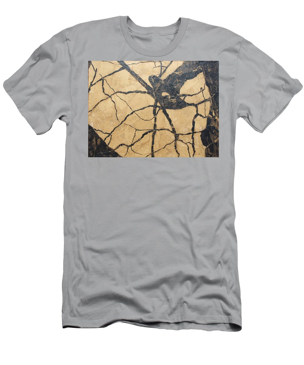 Abstract T-Shirt featuring the painting Looking Up by Leah Tomaino