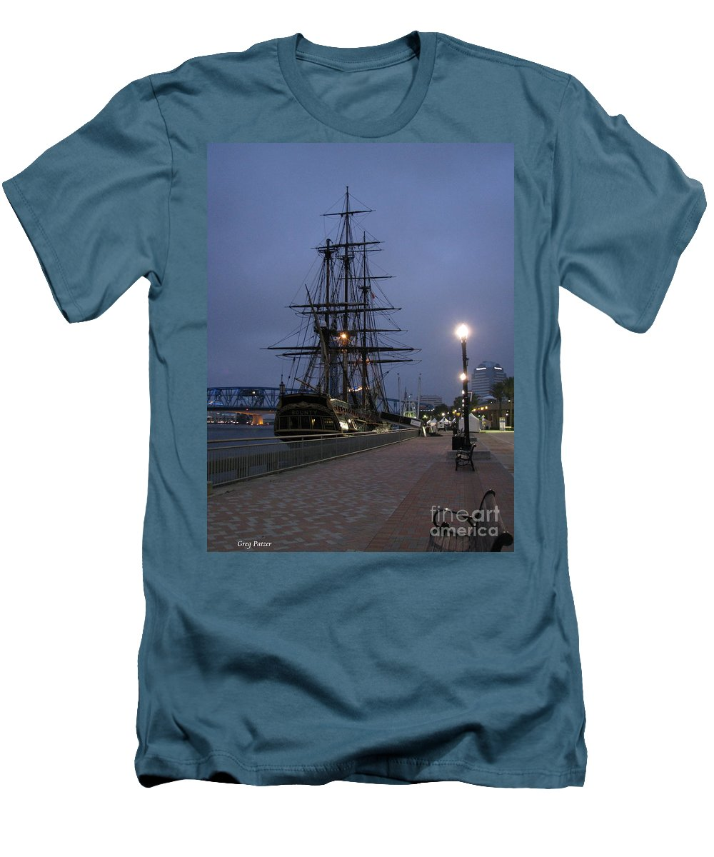 Patzer Men's T-Shirt (Athletic Fit) featuring the photograph Bounty by Greg Patzer