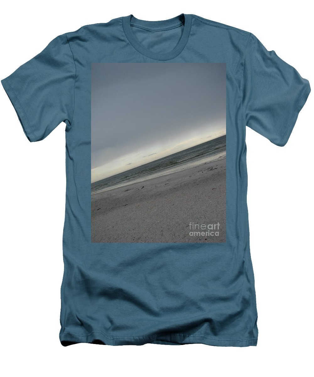 Ocean Men's T-Shirt (Athletic Fit) featuring the photograph Abstract Sea by Amanda Barcon