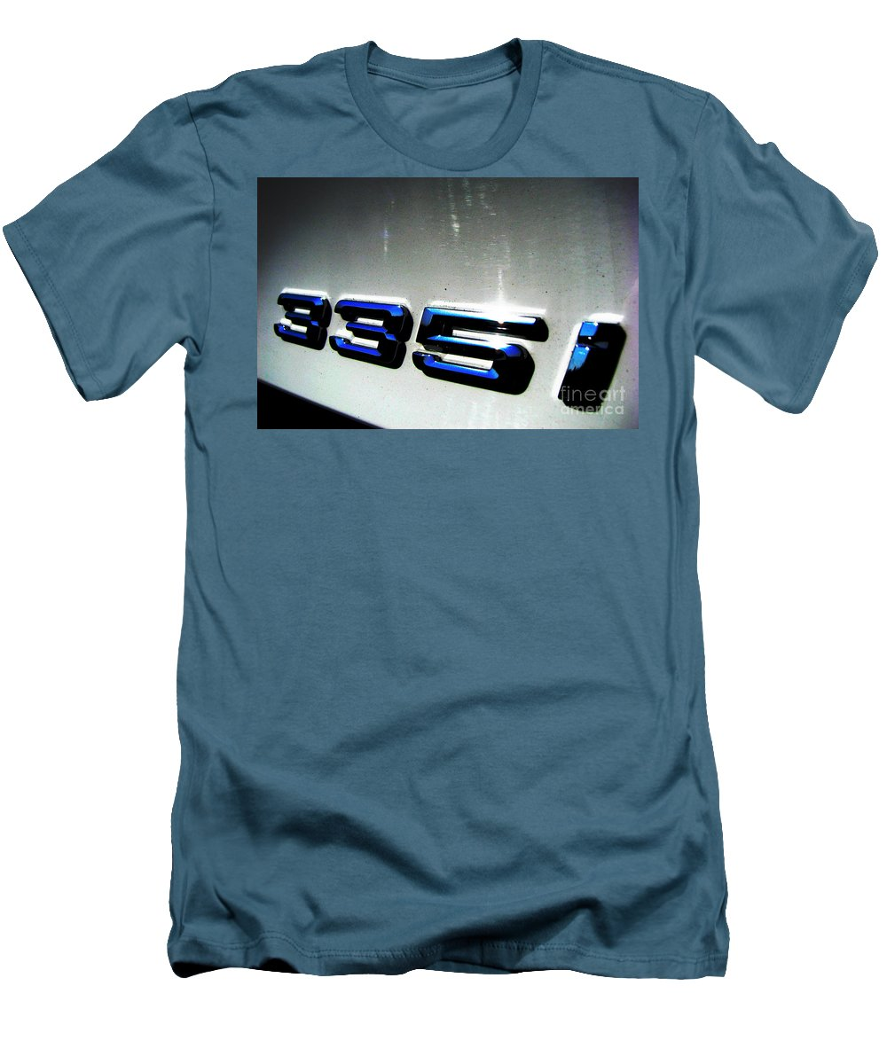 335i Men's T-Shirt (Athletic Fit) featuring the photograph 335i by Amanda Barcon