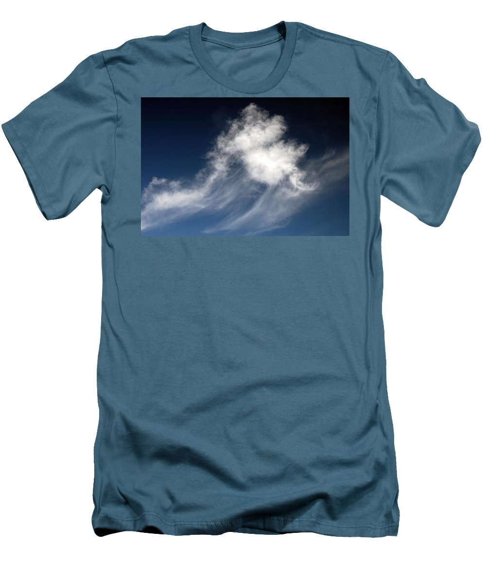 Clay Men's T-Shirt (Athletic Fit) featuring the photograph Clouds by Clayton Bruster