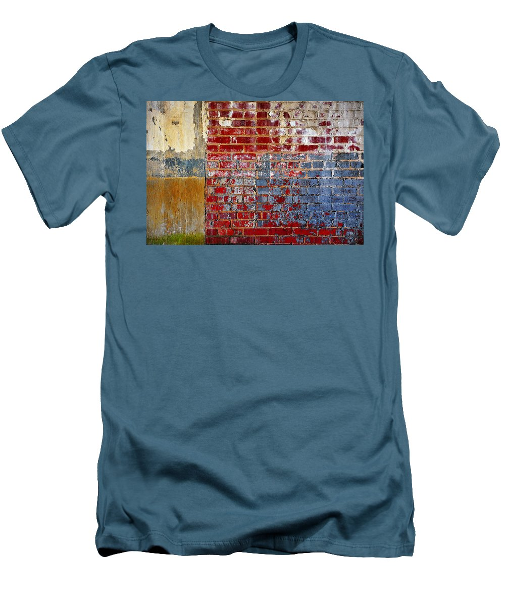 Skip Hunt Men's T-Shirt (Athletic Fit) featuring the photograph America by Skip Hunt