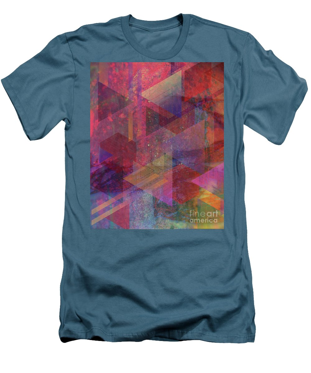 Another Place Men's T-Shirt (Athletic Fit) featuring the digital art Another Place by John Beck